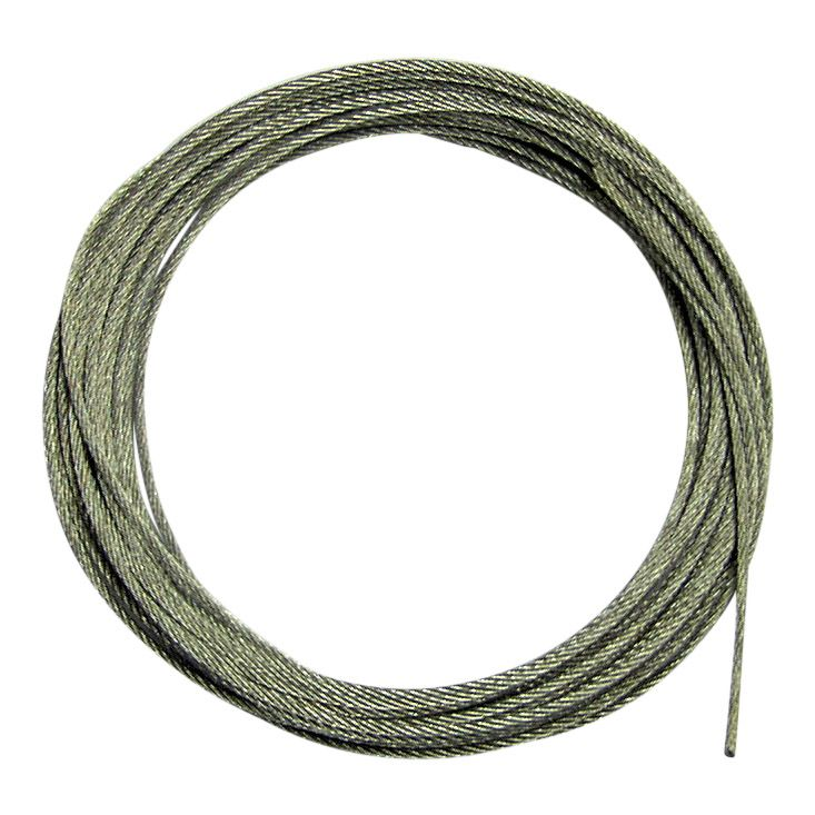 21 ft (2 x 3.20mtr lengths) 1.50mm Galvanised Steel Line for Longcase clocks